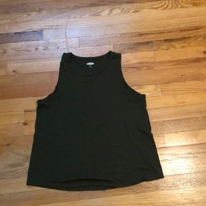 Excellent condition green tank top from Old Navy